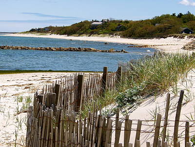 Along The Shoreline Of Brewster Beach Art Print