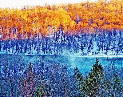 Along The Susquehanna Art Print by See Me Beautiful Photography