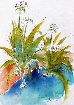 Painting - Along The Wailua River by Pat Katz