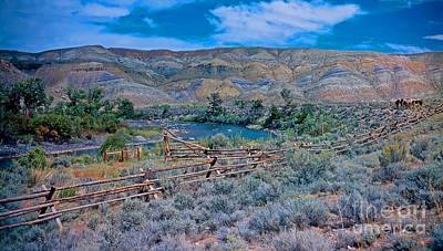 Travel - Along The Wind River Wyoming by Rich Walter