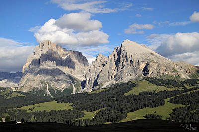 Art Print featuring the photograph Alpe Di Siusi by Raffaella Lunelli