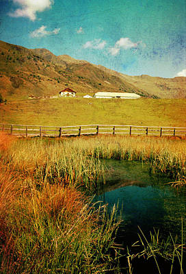 Alpe Nemes In South Tyrol Art Print by Angela Bruno