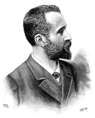 Alphonse Bertillon, French Police Officer Print by