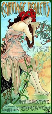 Alphonse Expo Art Print by Lyle Brown