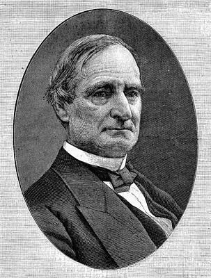 Alphonso Taft (1810-1891) Art Print by Granger