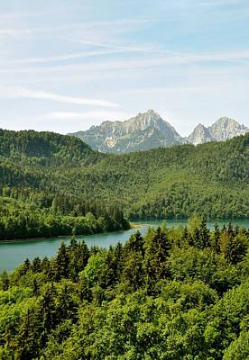 Alps From Bavaria Art Print by Rick Frost