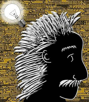 Al's Bright Idea Art Print