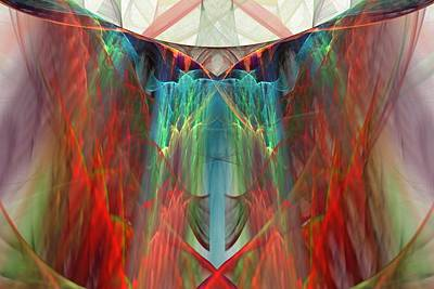 Digital Art - Altar Of Zeus by Rick Chapman