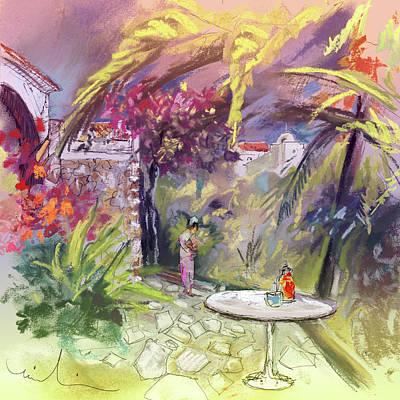 Altea Painting - Altea La Vieja In Spain 16 by Miki De Goodaboom