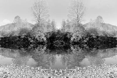 Photograph - Altered Series - Dream Landscape by Kathleen Grace