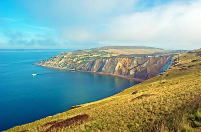 Alum Rock Park Photograph - Alum Bay - Isle Of Wight by Michael Stretton