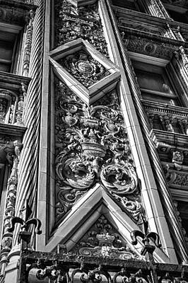 Photograph - Alwyn Court Building Detail 10 by Val Black Russian Tourchin