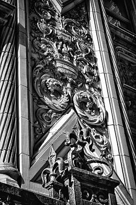 Photograph - Alwyn Court Building Detail 12 by Val Black Russian Tourchin