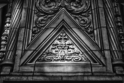 Alwyn Court Building Detail 13 Art Print by Val Black Russian Tourchin