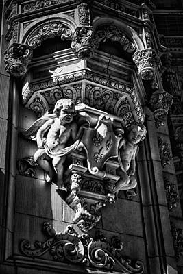 Photograph - Alwyn Court Building Detail 18 by Val Black Russian Tourchin