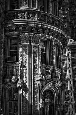 Photograph - Alwyn Court Building Detail 24 by Val Black Russian Tourchin