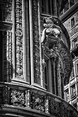 Photograph - Alwyn Court Building Detail 31 by Val Black Russian Tourchin