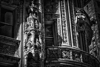 Photograph - Alwyn Court Building Detail 34 by Val Black Russian Tourchin