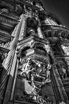 Photograph - Alwyn Court Building Detail 4 by Val Black Russian Tourchin