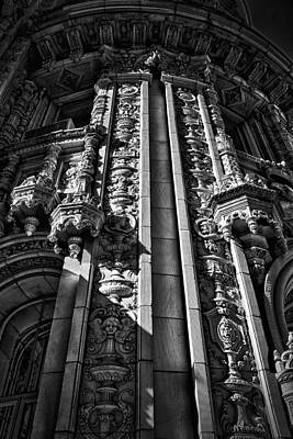 Photograph - Alwyn Court Building Detail 5 by Val Black Russian Tourchin