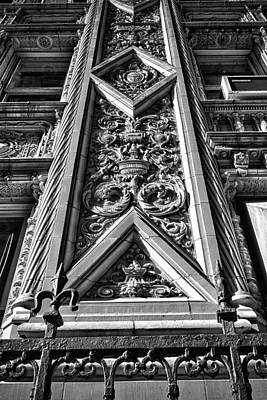 Photograph - Alwyn Court Building Detail 6 by Val Black Russian Tourchin