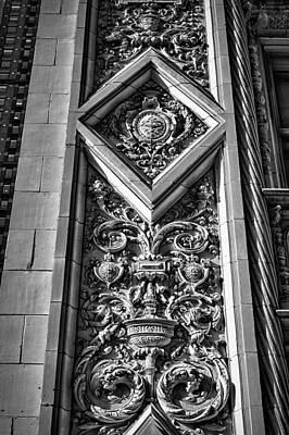 Photograph - Alwyn Court Building Detail 8 by Val Black Russian Tourchin