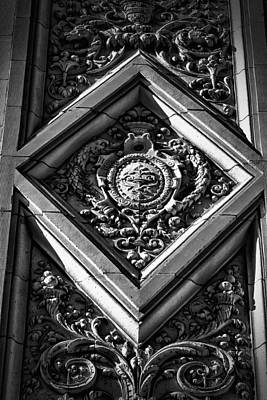 Photograph - Alwyn Court Building Detail 9 by Val Black Russian Tourchin