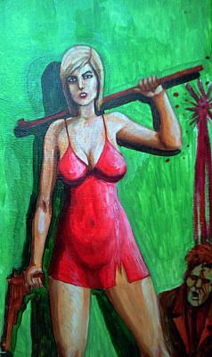 Alyssa Painting - Alyssa Ashcroft by Edzel marvez Rendal