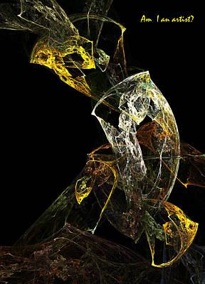 Am I An Artist Art Print by Xianadu Artifacts