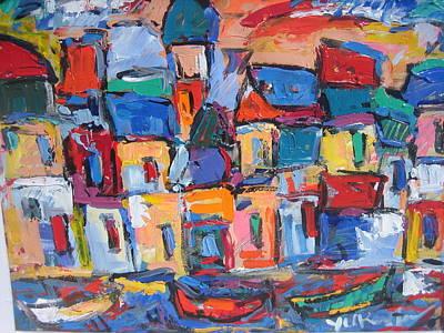 Painting - Amalfi 06 by Len Yurovsky