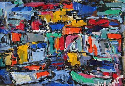 Amalfi 35 Art Print
