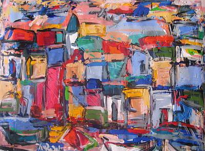 Portofino Italy Painting - Amalfi 88 by Len Yurovsky