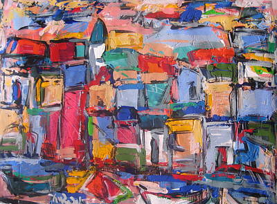 Painting - Amalfi 88 by Len Yurovsky