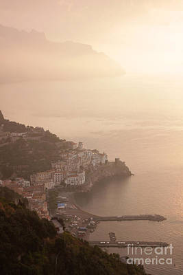 Photograph - Amalfi At Sunrise by Chris Hill