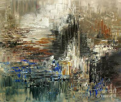 Painting - Amalia Glacier by Tatiana Iliina