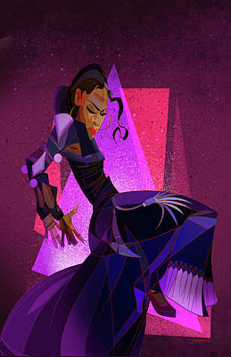 Stomp Digital Art - Amaya by Nelson Dedos Garcia