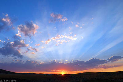 Photograph - Amazing Rays by C Sitton