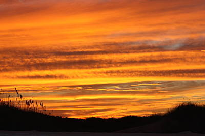 Amazing Sunset Over Obx Art Print by Kim Galluzzo Wozniak