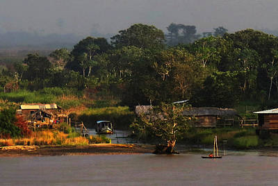 Photograph - Amazon Village by Deborah Smith