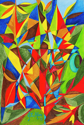 Joseph Edward Allen Painting - Amazonicos by Joseph Edward Allen
