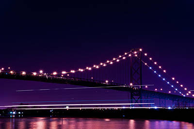 Ambassador Photograph - Ambassador Bridge by Cale Best