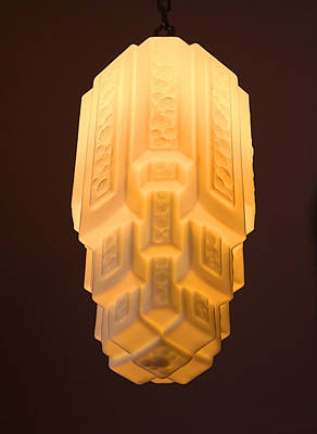 Ambassador Hotel Light Fixture Art Print