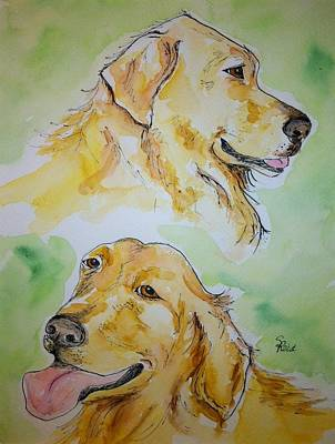 Painting - Amber N Sadie by Stephanie Reid