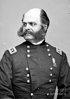 Ambrose Burnside, Union General Print by Photo Researchers