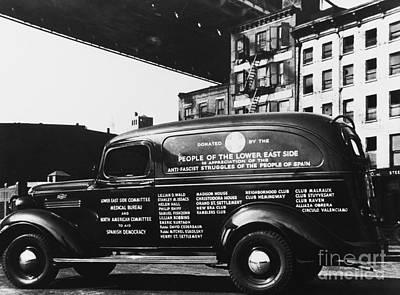 Ambulance, Late 1930s, Nyc Art Print