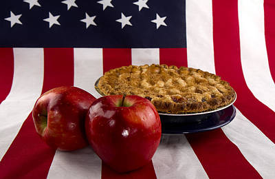 Photograph - American As Apple Pie by Trudy Wilkerson