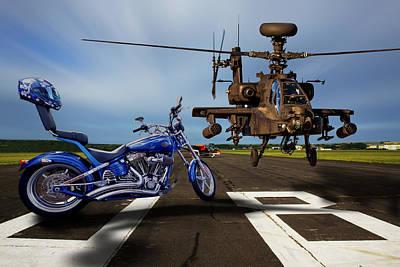 American Choppers 2 Art Print