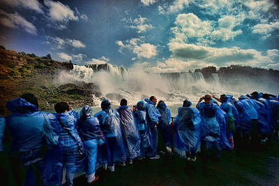 Photograph - American Falls Maid Of The Mist Niagara Falls by Lawrence Christopher