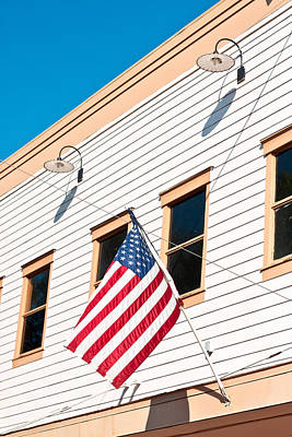 American Flag Art Print by Tom Gowanlock