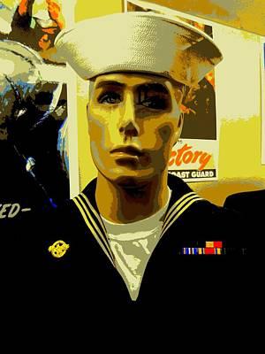 American Hero 3 Art Print by Randall Weidner